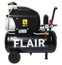 Flair Kompressor 25/210HL 2,0 HK Oliesmurt