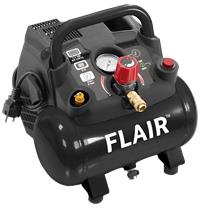 Flair kompressor 15/6 oliefri 1,5 ht 6 l