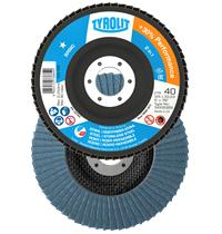 Flap disc Tyrolit Basic* 125x22mm ZA.80-B