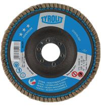 Flap disc Tyrolit Overlap 125x22mm ZA.40-B