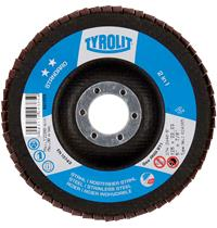 Flap disc Tyrolit Standard** 125x22mm ZA.40